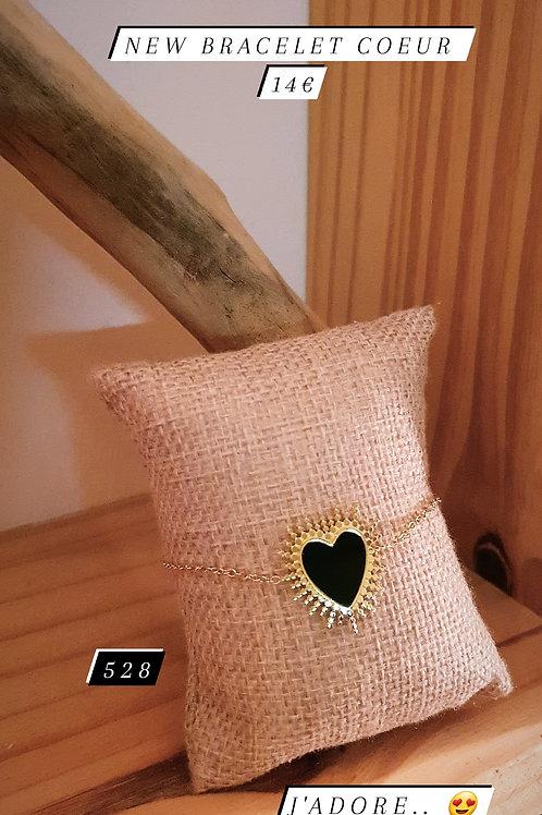 Le bracelet coeur