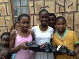 A SHOE-BOOT FOR AFRICAN VILLAGE PROJECT