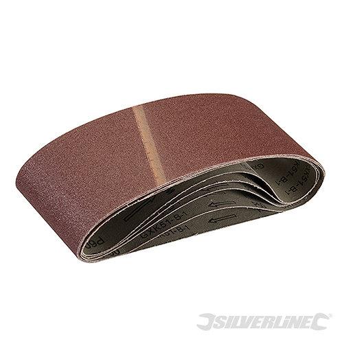 Sanding Belts 100 x 610mm 5pk --- Silverline --- CODE: 196070