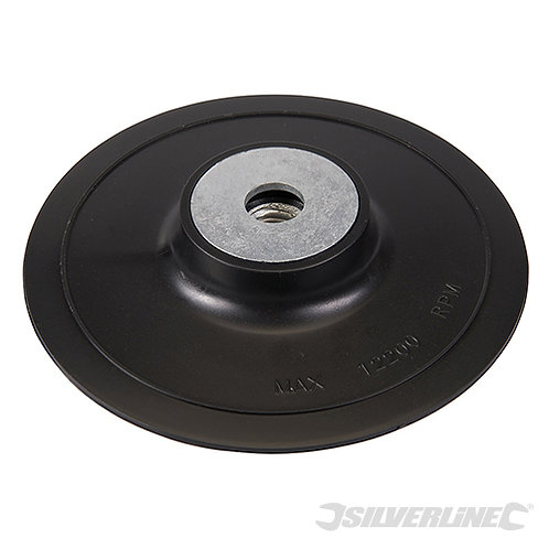 ABS Fibre Disc Backing Pad --- Silverline --- CODE: 309814