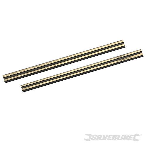 Tungsten Carbide Planer Blades 2pk --- Silverline --- CODE: 273237