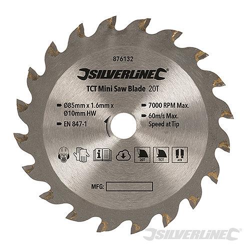 TCT Mini Saw Blade --- Silverline --- CODE: 876132