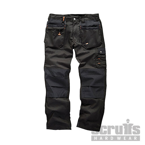 Worker Plus Trouser Black --- Scruffs --- CODE: T51801