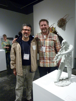 with Chris Taylor, President of the Clay Studio of Philadelphia
