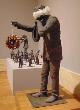 1. portatore del fuoco 2014, terracotta
