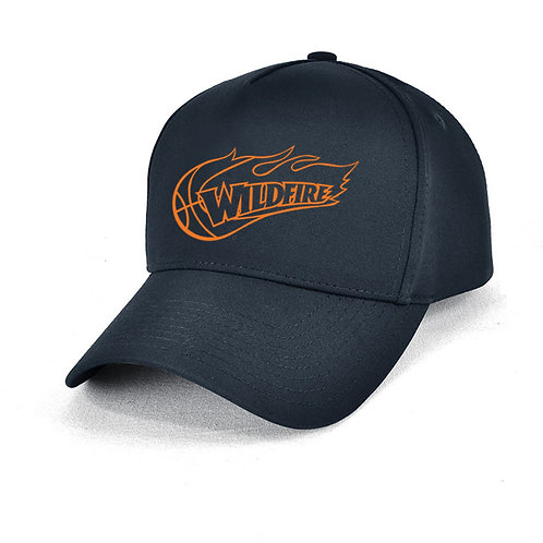 Wildfire Navy Blue Cap Orange Logo