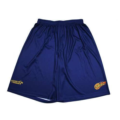 Wildfire Basketball shorts for Local Comp/Rep Training Shorts.