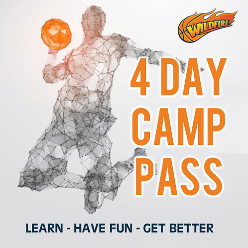 January Holiday Basketball Camp - 4 Day Pass