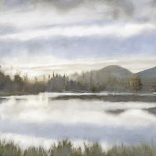 Blue Twilight Lakescape