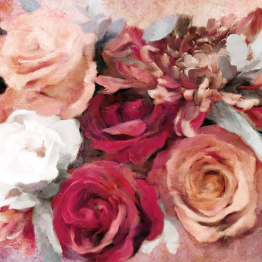 Crimson and Coral Roses