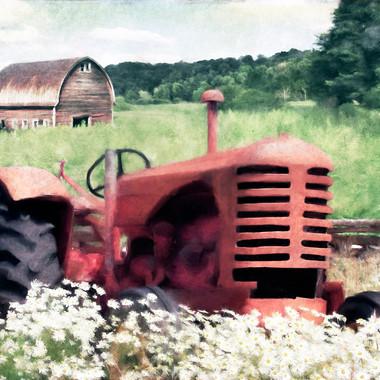 summer tractor 20 x 30