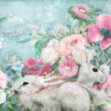Whimsical Rabbit Garden