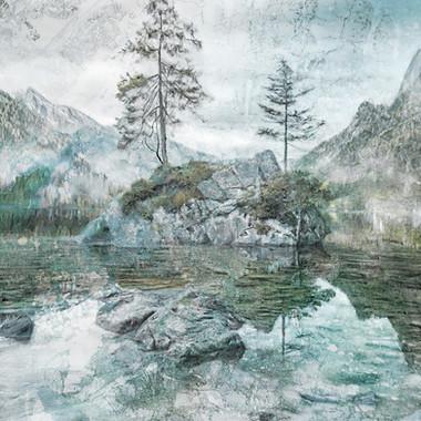 Lake Mountain and Pine Tree