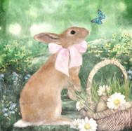 Easter Basket Bunny