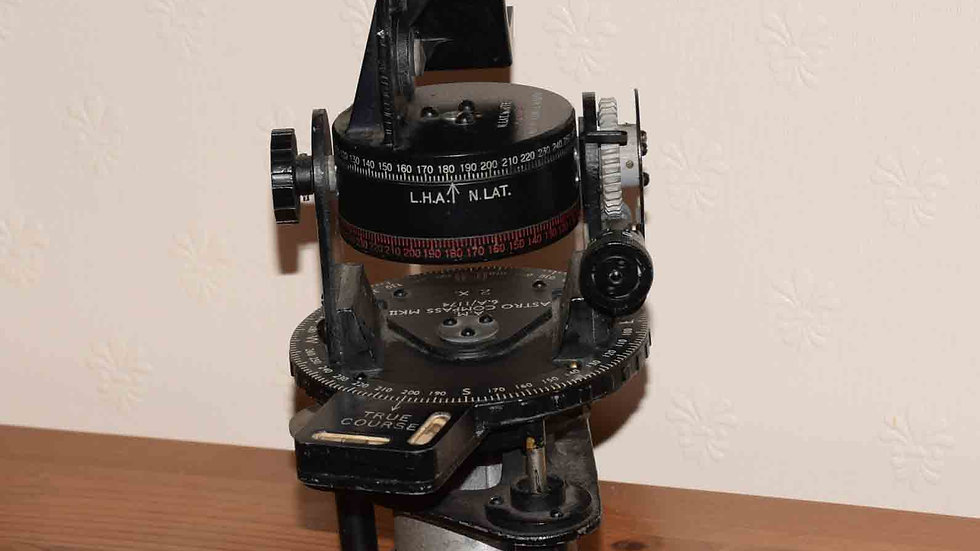 Air Ministry Astro Compass MKII dated to 1943.