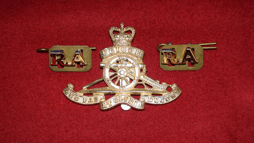 Royal Artillery Regiment,  Aluminium post 1960 Set
