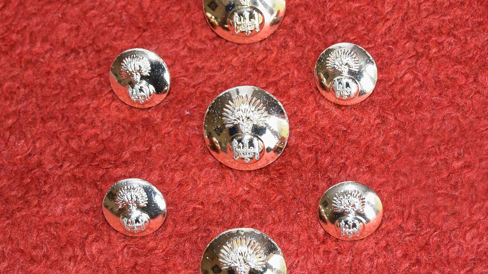 Scottish Dublet Buttons - Royal Highland Fusiliers