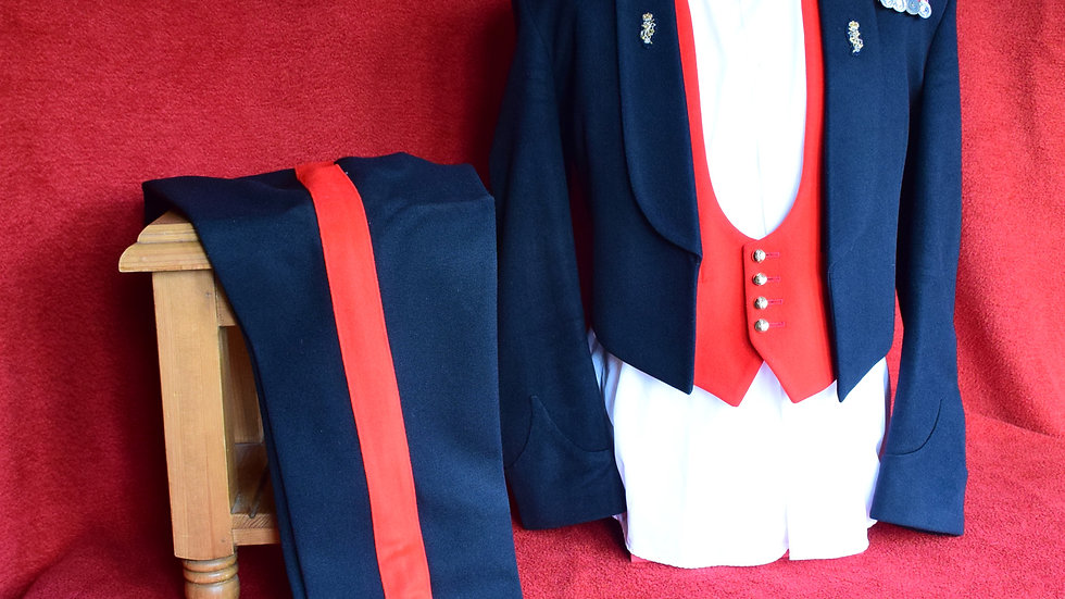 Major - Royal Electrical & Mechanical Engineers - Mess Dress