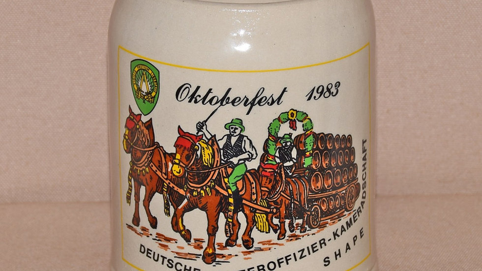 Beer Stein - Oktoberfest Celebration 1983