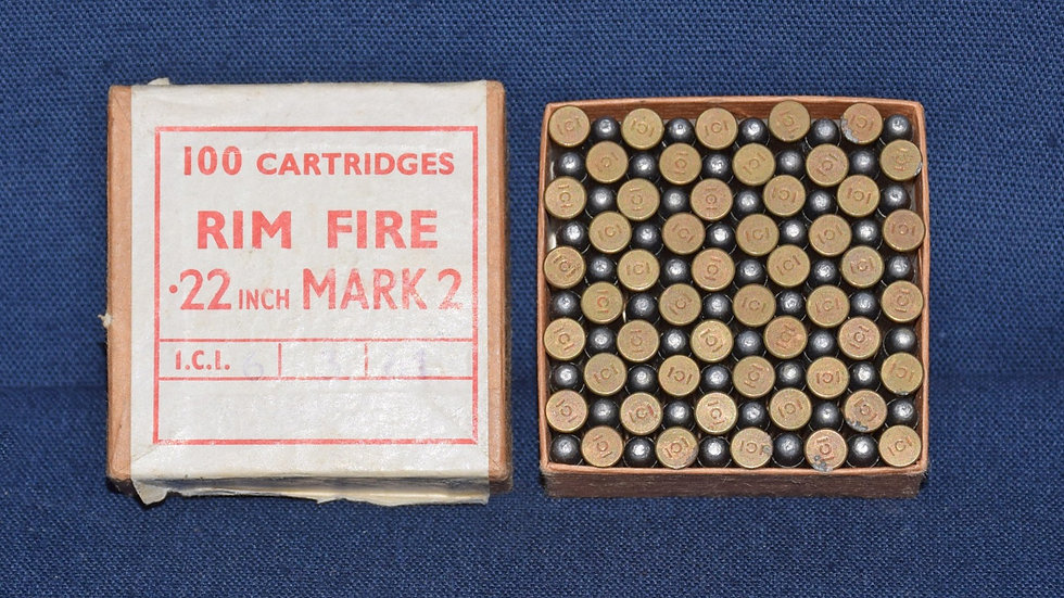 .22 rimfire cartridges Mark 2 by ICI