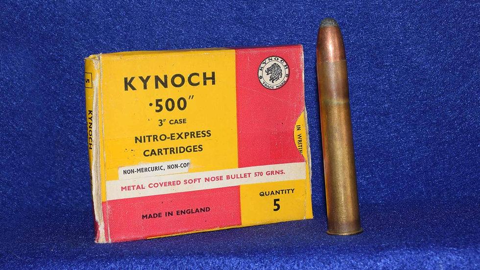 Kynoch 500 Nitro Cartridges