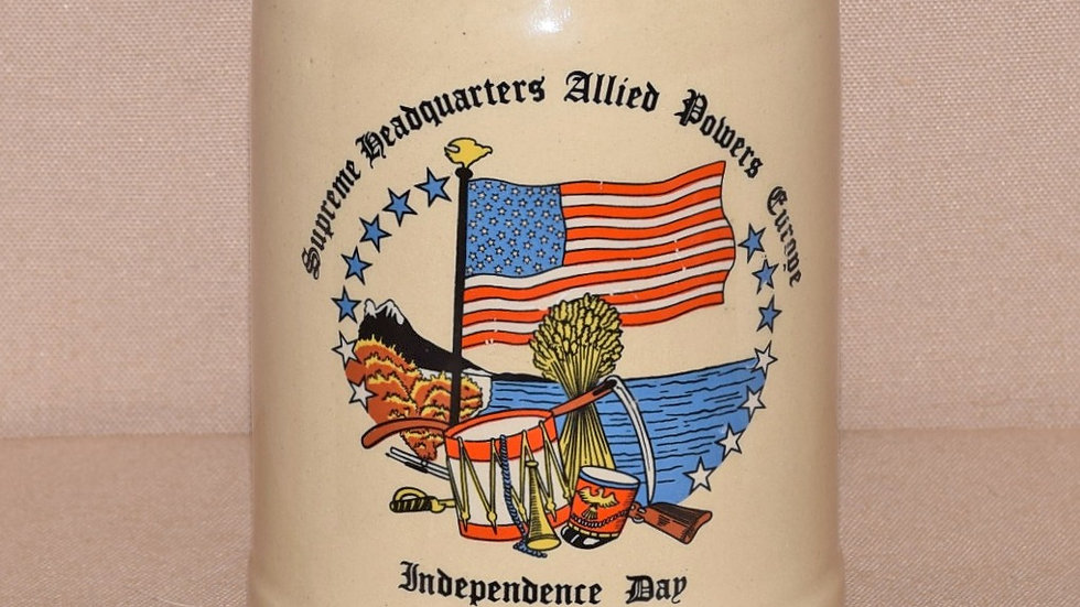 Beer Stein - American Independence Day Celebration 1982