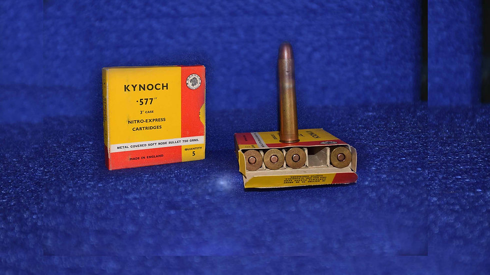 Kynoch 577 Nitro Express Cartridges