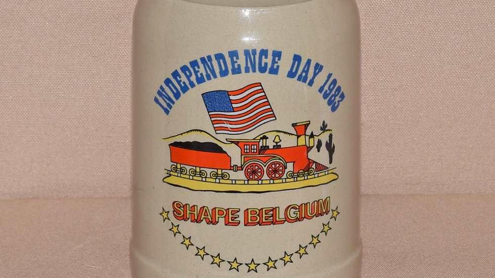 Beer Stein - American Independence Day Celebration 1983