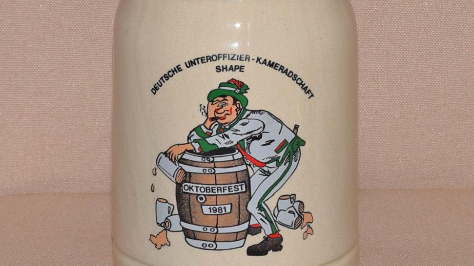 Beer Stein - Oktoberfest Celebration 1981