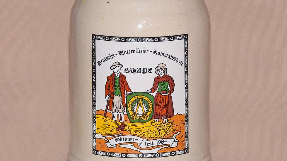 Beer Stein - Oktoberfest Celebration 1984