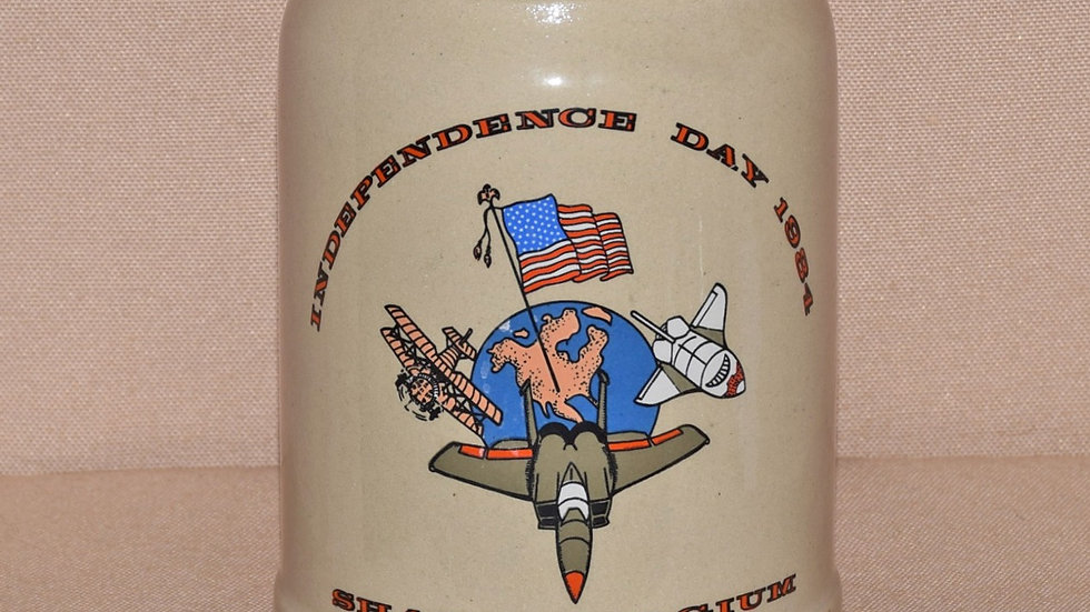 Beer Stein - American Independence Day Celebration 1984