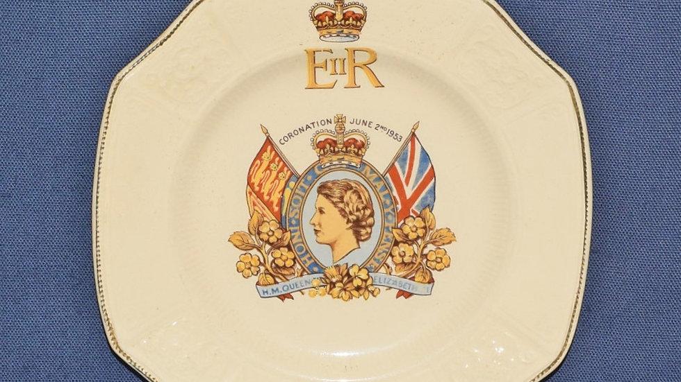 Elizabeth II Coronation Plate 1953