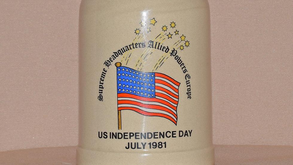 Beer Stein - American Independence Celebration 1981