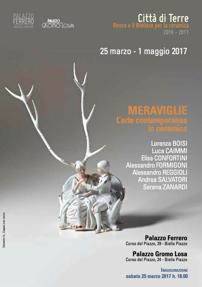 MERAVIGLIE                                             L'Arte Contemporanea in ceramica