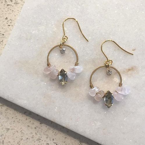 Aleena Petal Dangle Earrings