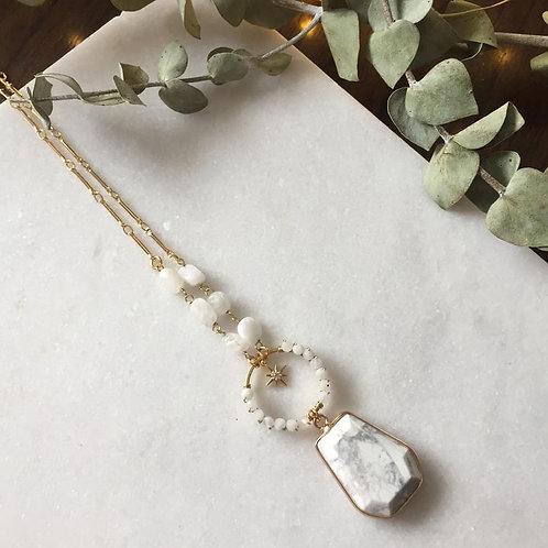 Moonstone In The Calm Necklace