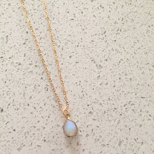 Opalite Baby Shorties Necklace