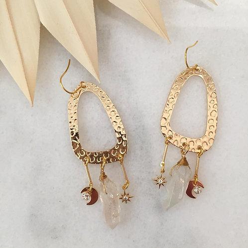 Glimmer Goddess Earrings