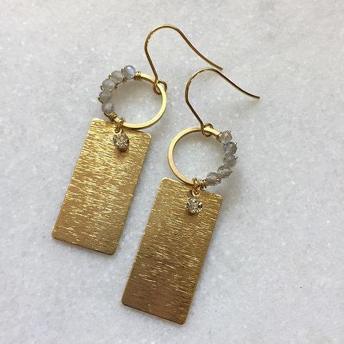 Labradorite Sashay Dangle Earrings