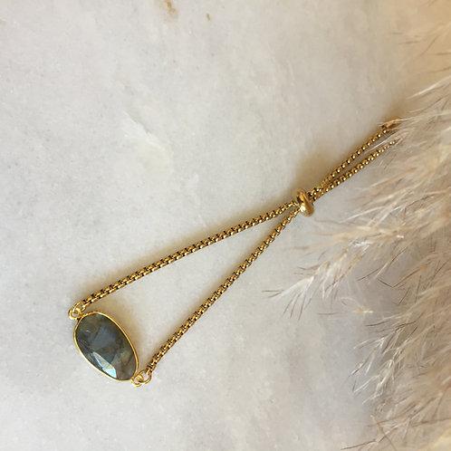 Labradorite Adjustable Bracelet
