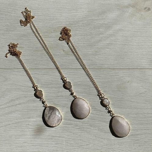 Sunstone Quartz   Necklace