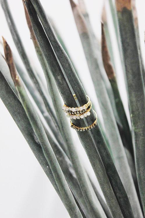 Gemstone Wrapped Rings