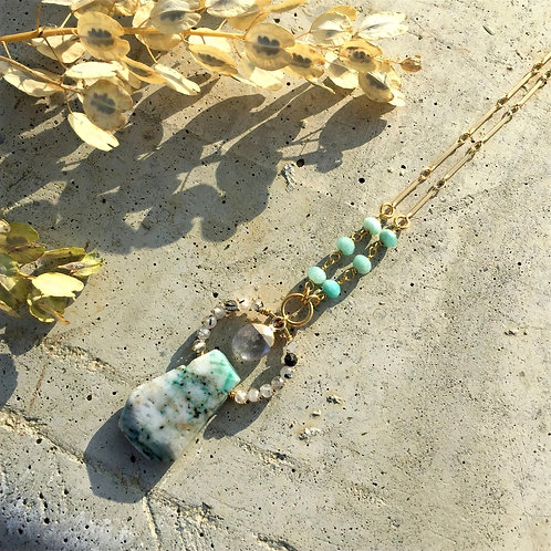 Tree Agate Beauty Necklace