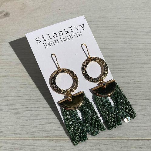 Green with Envy   Dangle Earrings