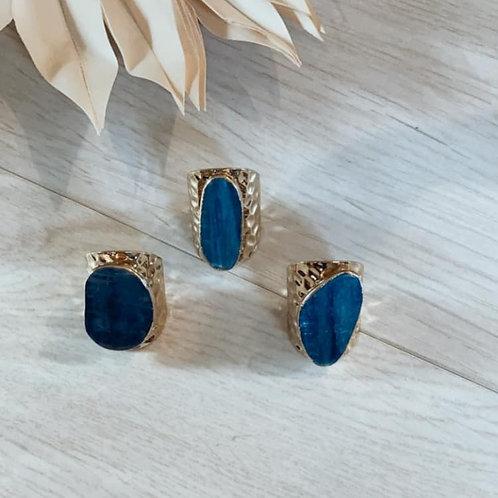 Kyanite Pow | Adjustable Ring