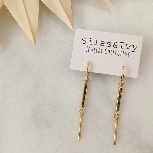 Aba Abalone Dangle Earrings