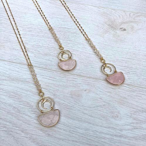Rosey | Quartz Cuties Necklace