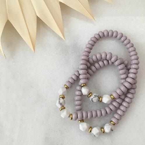 Lilac Fields of Calm Bracelet