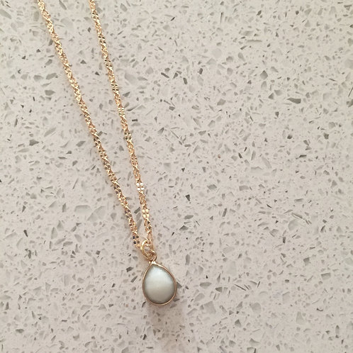 Amazonite Baby Shorties Necklace