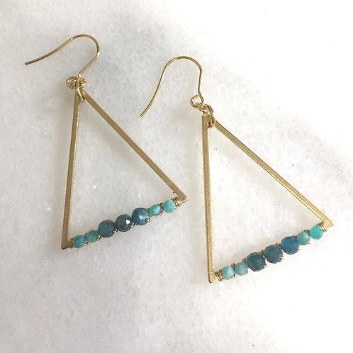 Apatite Goddess Earrings